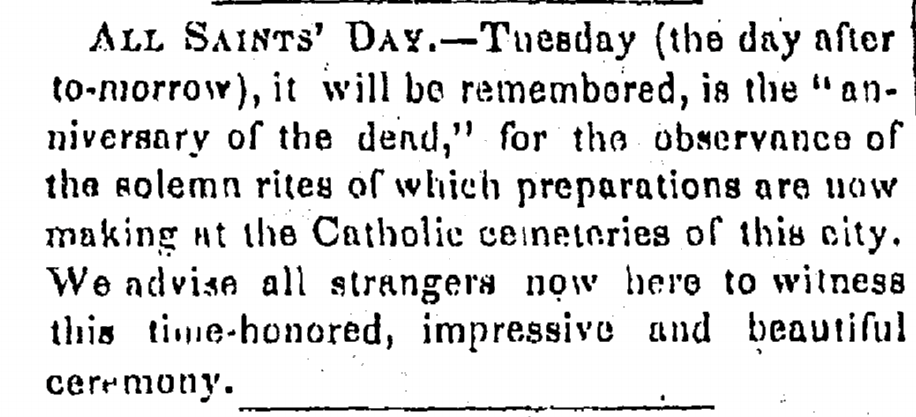An article from 1842.
